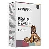 Animigo Salud Mental para Perros y Gatos | Suplemento para Salud Cognitiva con Glucosamina, Vitaminas y Minerales