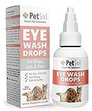 PetSol Gentle Care Gotas para los Ojos para Perros y Gatos
