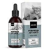 Animigo Desparasitación Interna Perros y Gatos 120ml - Antiparasitario 100% Natural para Higiene Intestinal