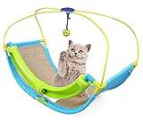 OSPet Cama del Gato con Gato de Verano Actividad Juego rascador Alfombra y Bolas del Juguete Colgante