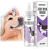 SEGMINISMART Cuidado De Ojos para Mascotas,Limpiador De Ojos para Perros,Tear Stain Remover For Dogs,para Perros,Gatos y pequeños Animales,Producto específico para el Cuidado de los Ojos