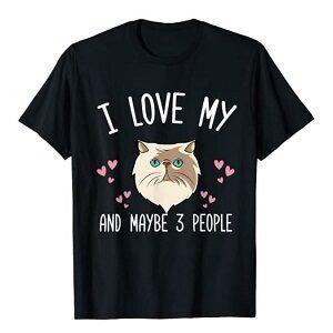 camiseta de gato persa